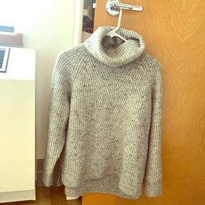 NEW Madewell Donegal Mercer Turtleneck size L